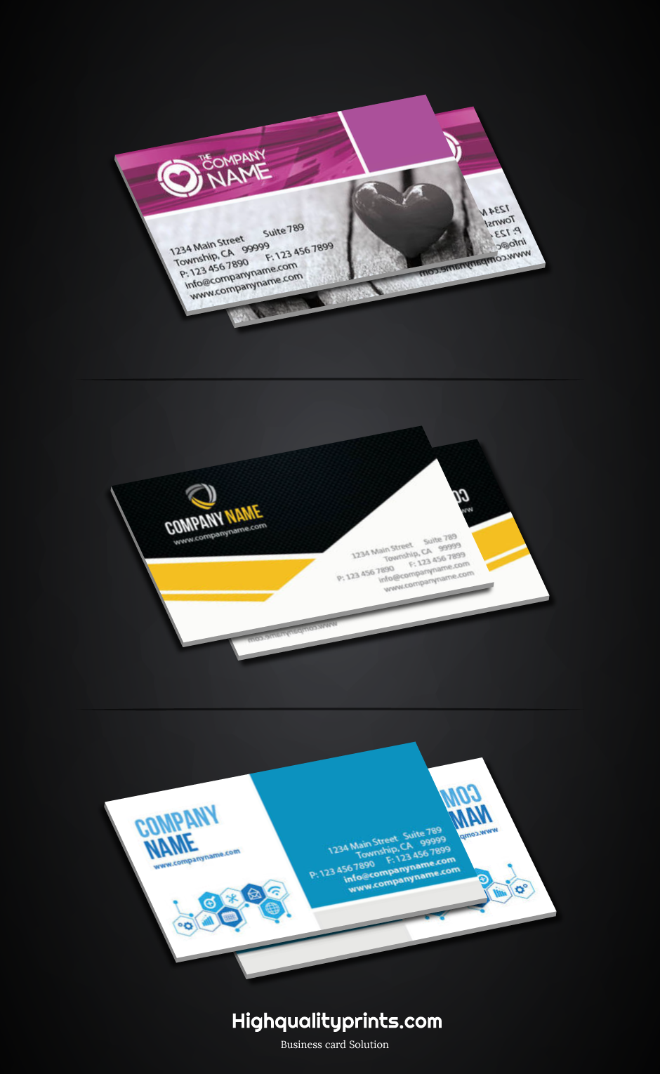 Get High Quality Business Cards That Represent Your Brand Identity Make Better Impre Business Cards Creative Business Card Design High Quality Business Cards