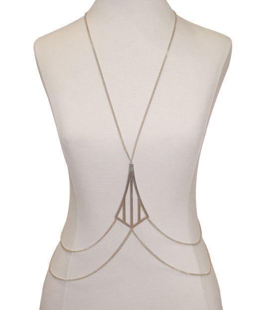 Cornelia Webb X Henri Bendel Triple Stripe Body Chain | Cornelia Webb | Henri Bendel