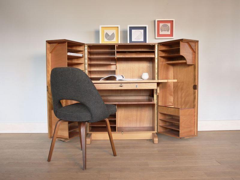 Bureau Malle Annees 50 Bureau Ferme Meuble Vintage Mobilier De Salon