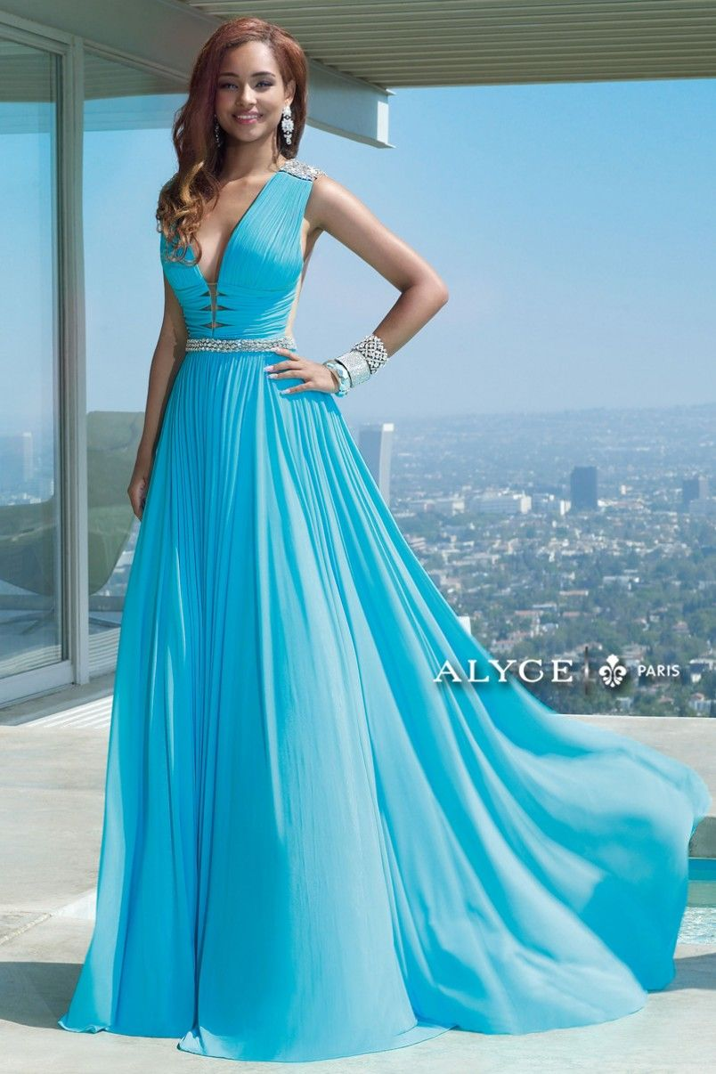 Claudine | Prom Dress Style #2459 Full View | Alyce Bridal ...