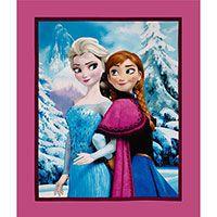 Disney Frozen Sister Panel from ShopFonsandPorter.com