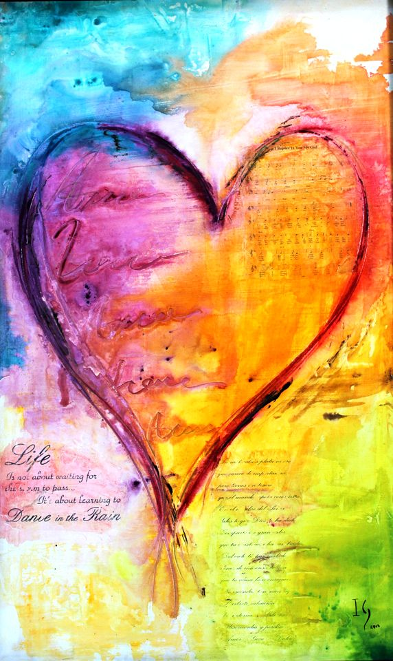 Heart Painting Heart Painting Art Canvas Painting