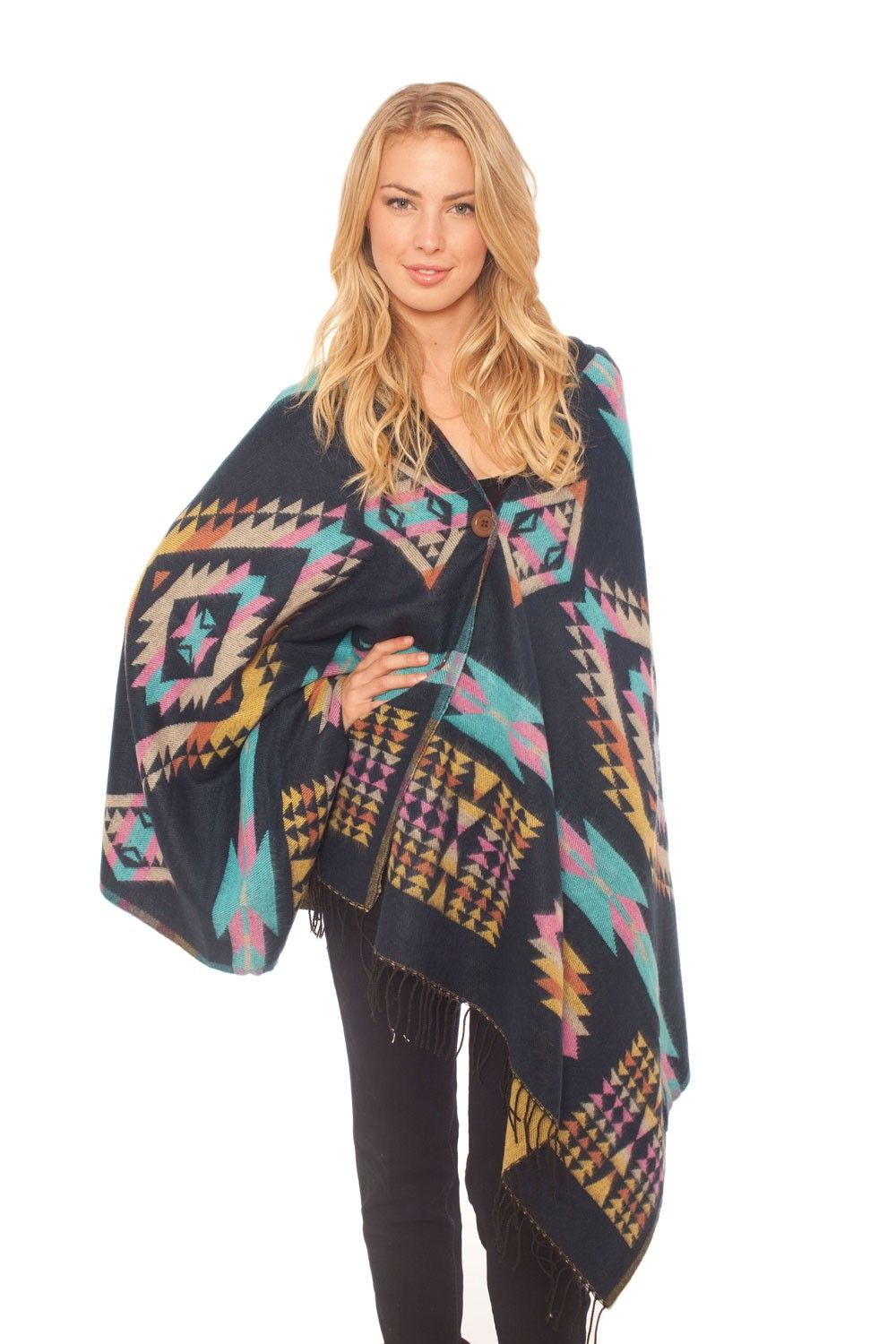 Spun by Subtle Luxury Navajo Poncho