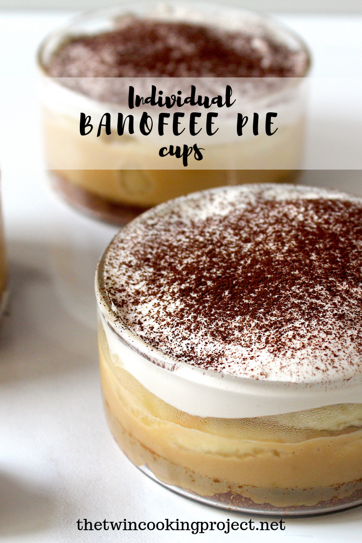 Individual Banoffee Pie Cups The Twin Cooking Project By Sheenam Muskaan Recipe Banoffee Pie Banoffee Dessert Recipes Easy