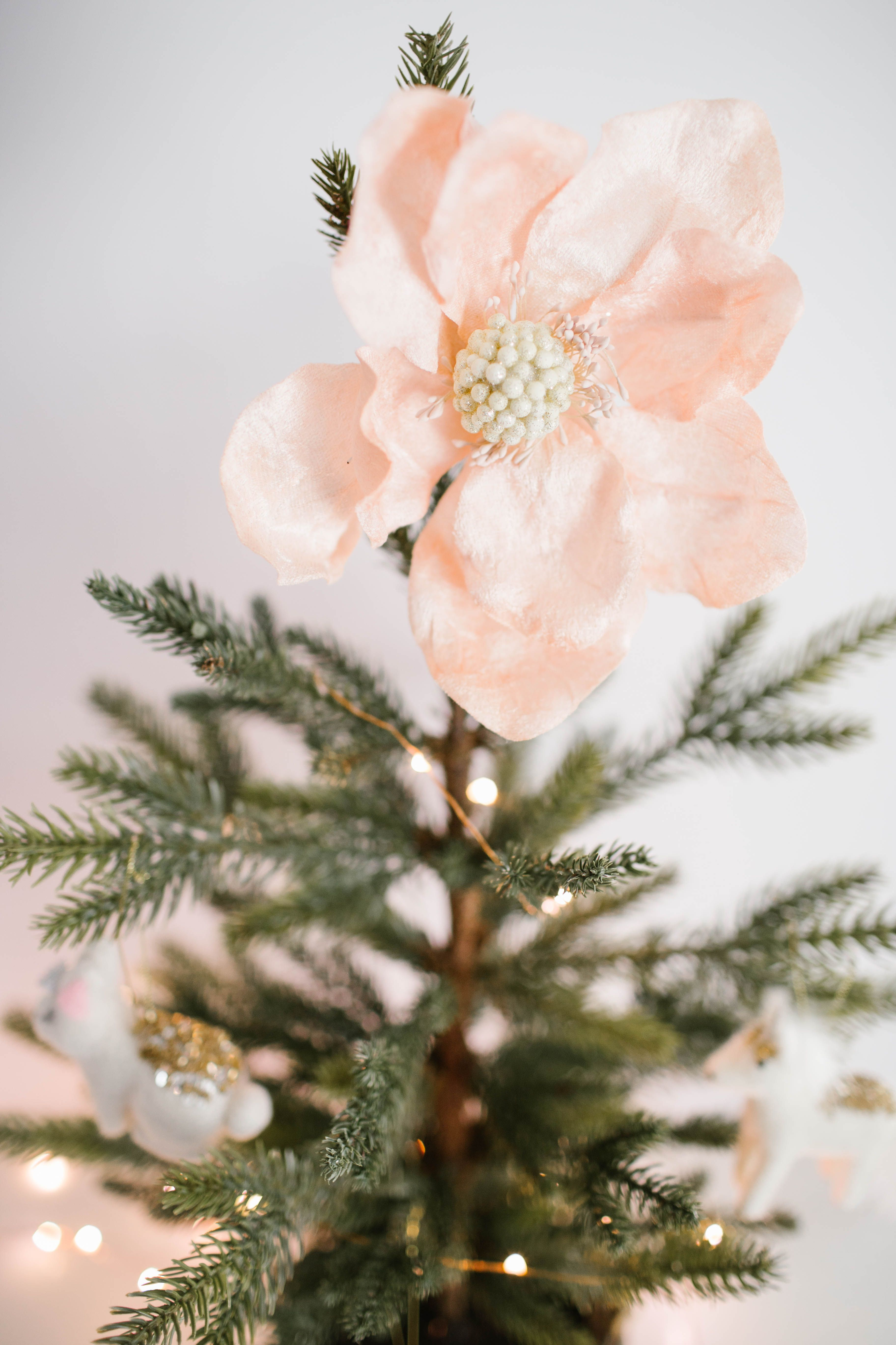 lc lauren conrad flower christmas ornament available at kohls and on kohlscom christmas