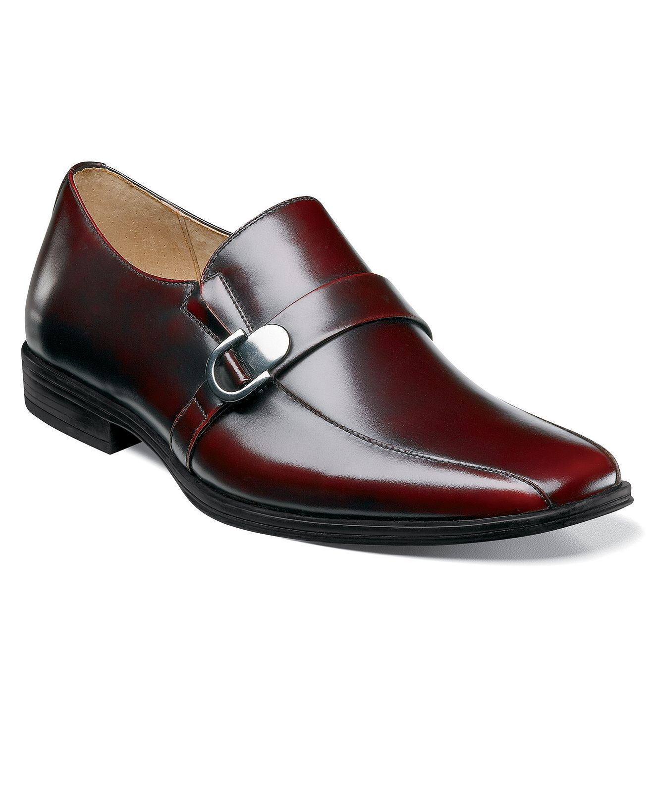 50deee9579c The angels wanna wear his red shoes... Stacy Adams Burgundy Slip Ons from  Macy s.