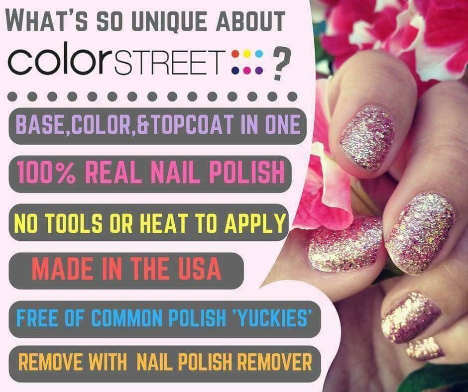 What\'s Color Street!?! It\'s a new way of doing your nails with the ...