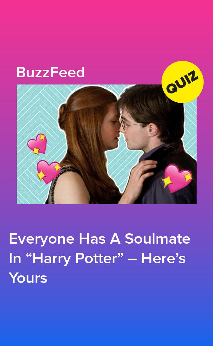 Everyone Has A Soulmate In Harry Potter Here S Yours Harry Potter Buzzfeed Harry Potter Quiz Harry Potter