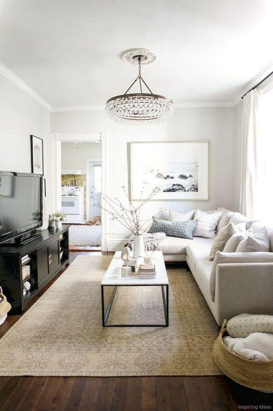 45 Best Inspiring Formal Living Room Design Ideas Elegant Living Room Small Apartment Living Room Minimalist Living Room #small #formal #living #room