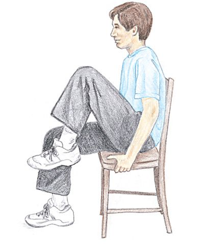 seated exercises  workout at work arthritis exercises