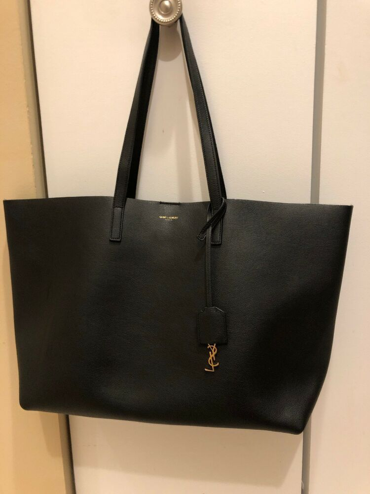 6eabdca1eb47 Saint Laurent Large East-West Perforated Leather Shopping Tote Bag Purse  Handbag #fashion #