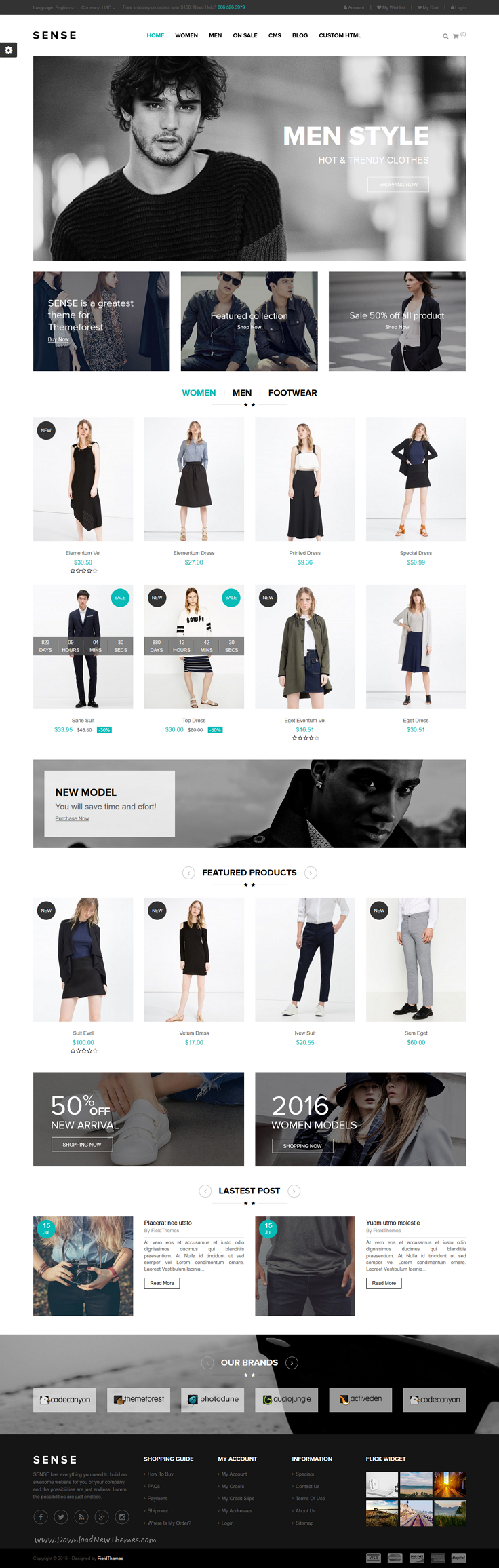 Sense is elegant and modern responsive 4 in 1 #Prestashop theme for multipurpose #onlineshop eCommerce website download now➝ https://themeforest.net/item/sense-responsive-prestashop-theme/16807048?ref=Datasata