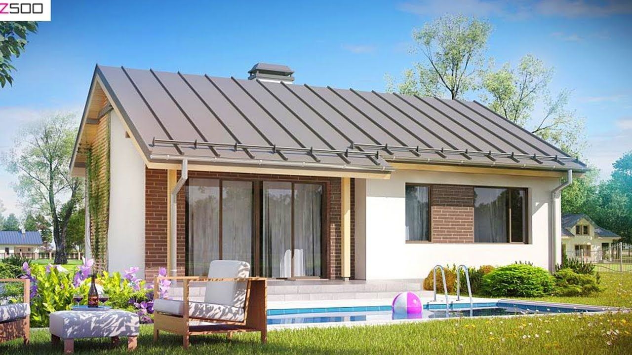 Best Simple Beautiful And Inexpensive Single Storey Z262 House 400 x 300