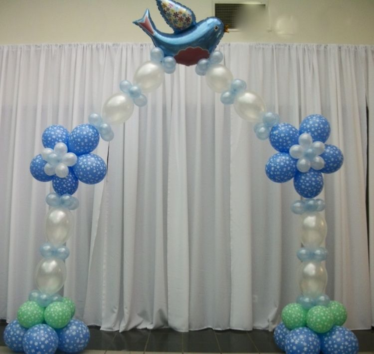 First communion balloon decorations baptism or