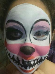 image result for fnaf foxy makeup easy  halloween face