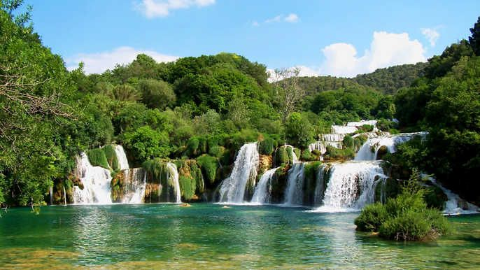 Krka Waterfalls Full Day Tour From Split With River Cruise