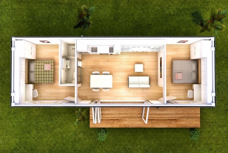 45+ Plan maison container 2 chambres trends
