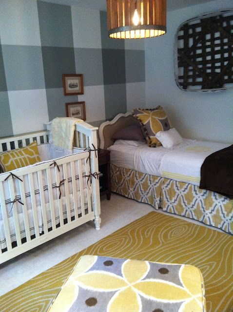 Twin Boys Bedroom Ideas: Birds Of A Feather... Love The Walls!!! And The Twin Bed