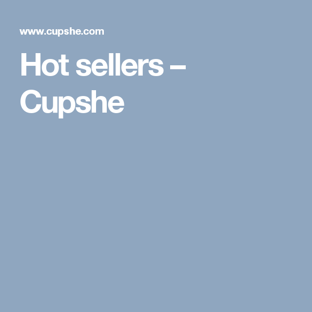 Hot sellers – Cupshe