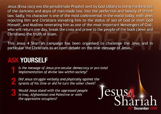 Jesus (Eesa (as)) was the penultimate Prophet sent by God (Allah) to bring mankind out of the darkness and hegemony of man-made law, into the perfection and beauty of divine law.