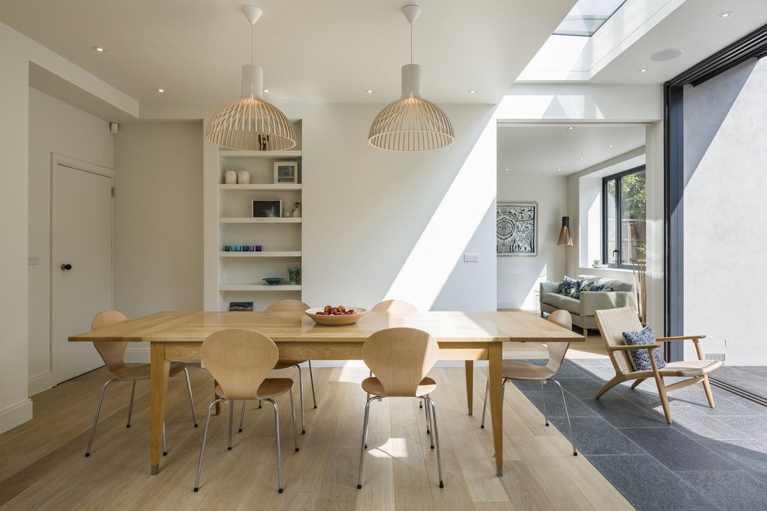 Muswell Hill House 1, London N10 : Modern dining room by Jones Associates Architects