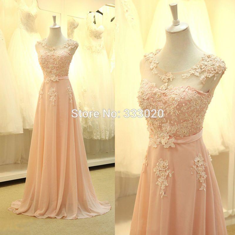 Cheap pink prom dress, Buy Quality blush pink prom dress directly ...