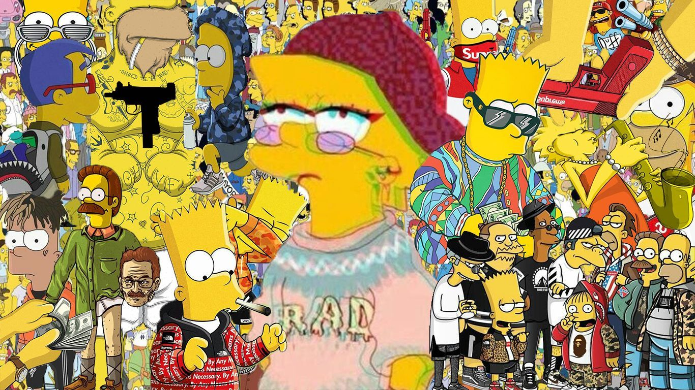 Papéis de parede de Os Simpsons para computador   Simpsons
