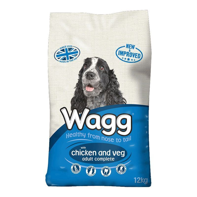 Wagg Complete Dog Food With Chicken Veg 12kg Buy Online At
