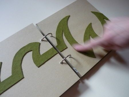 Some very clever ideas for tactile exploration in DIY books.
