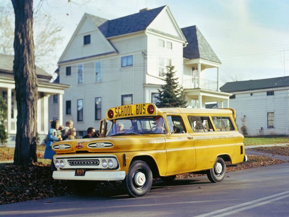 1961 Suburban Bus