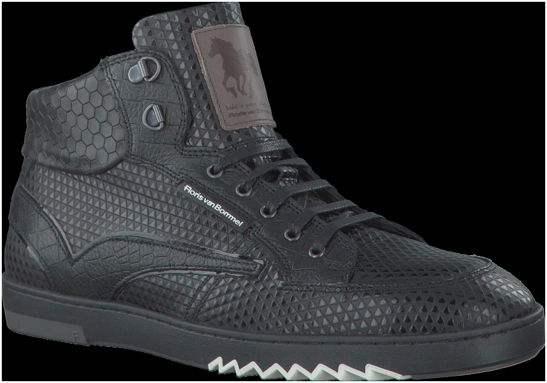 Black Floris Van Bommel Sneakers 10932 Winter Boots Sneakers All Black Sneakers