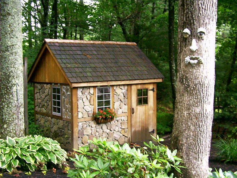 Another irish shed cordwood shed favorite places for Cordwood shed