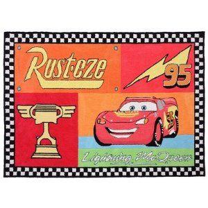 Disney Cars Lightening Mcqueen Rusteze Room Rug 5 X7 Disney Cars Bedroom Disney Cars Bedroom Decor Cars Bedroom Decor