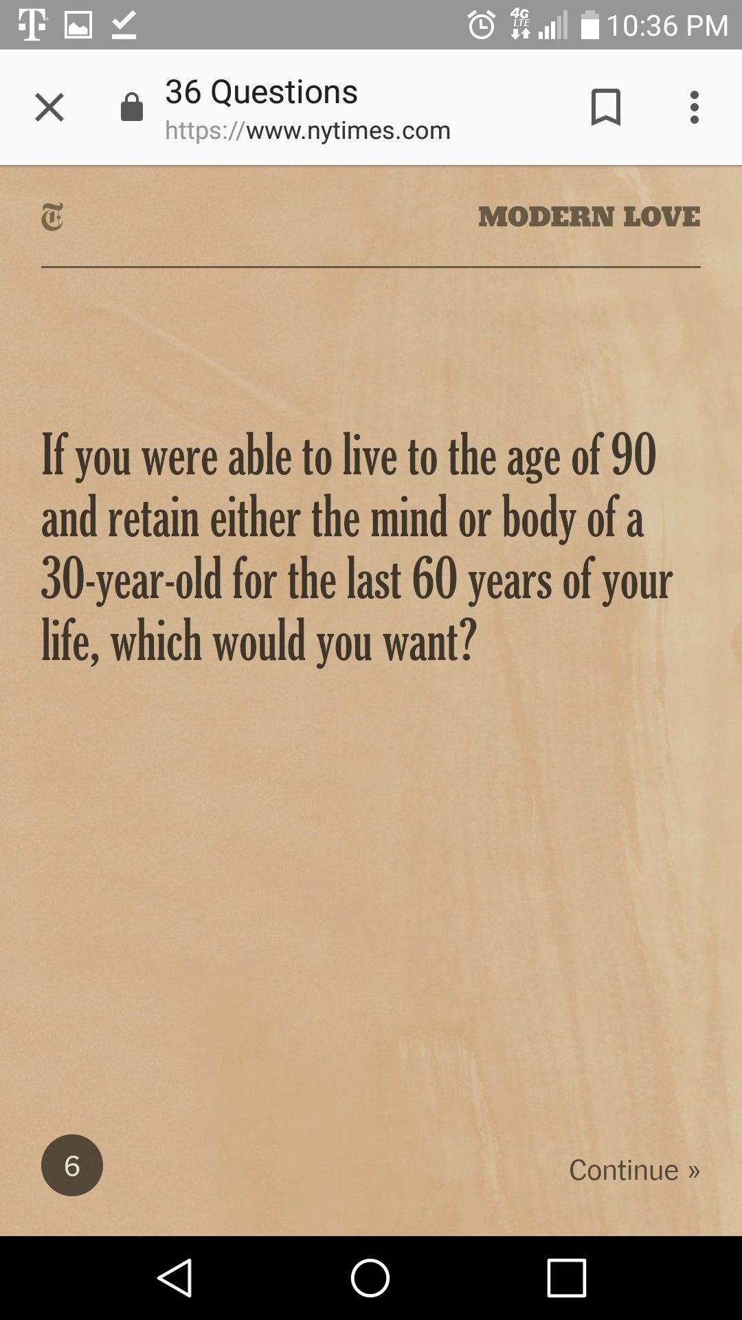 Pin By Eva Rodriguez On Ny Times 36 Questions To Fall In Love Modern Love This Or That Questions Mind Body
