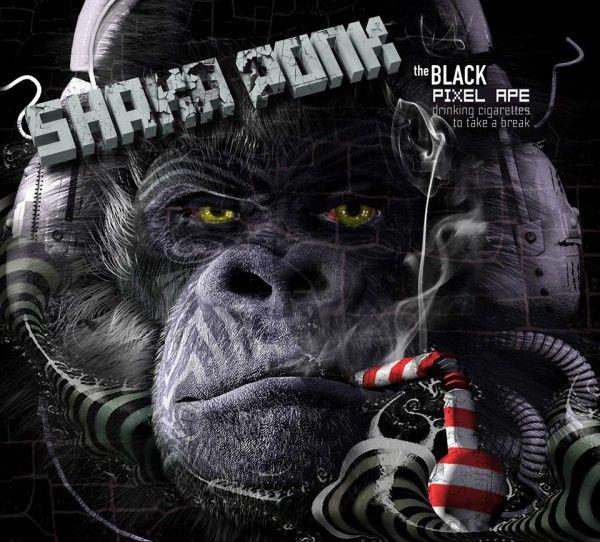 Shaka Ponk The Black Pixel Ape Drinking Cigarettes To Take A Break Rock Groupe Rock Musique