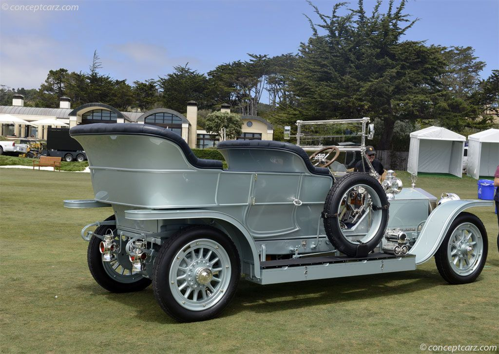 1908 Rolls-Royce Silver Ghost de imágenes. Fondo de pantalla de fotos: 08-Rolls-SlvrGhst-H101-DV-14-PBC_t011.jpg Wallpaper