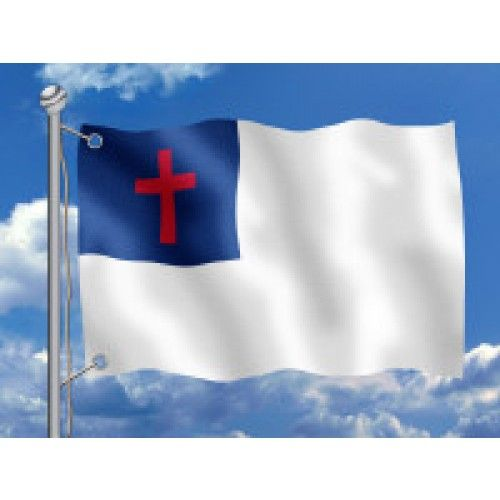 Christian Flag Outdoor Anco Dyed Design Christian Flag Flag Christian