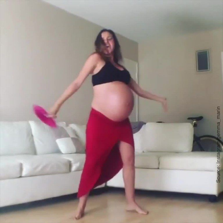 the femme enceinte