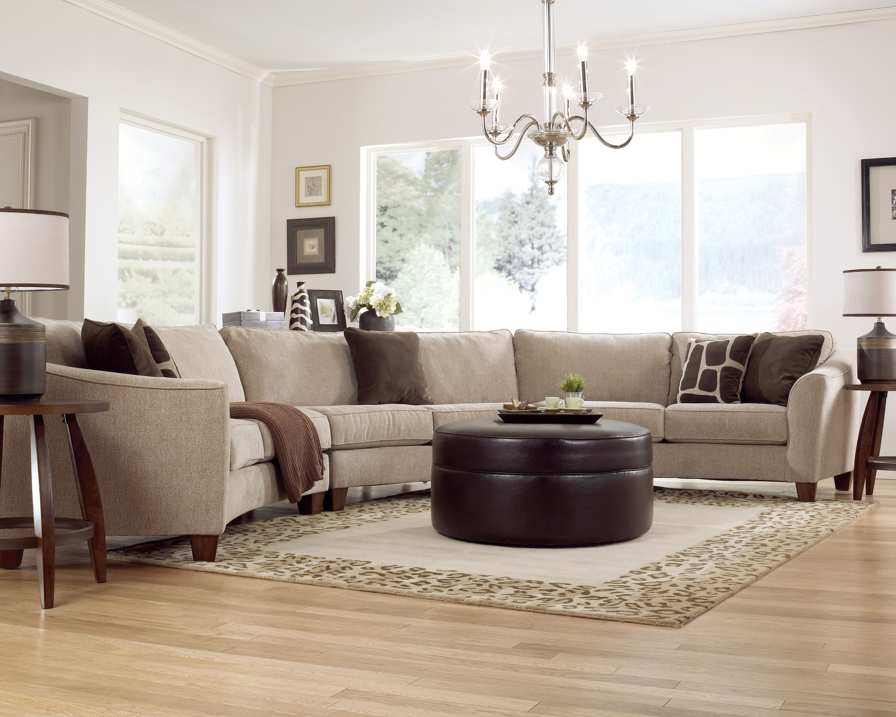 A classic curve sectional from ashley furniture living for Pinterest living room furniture