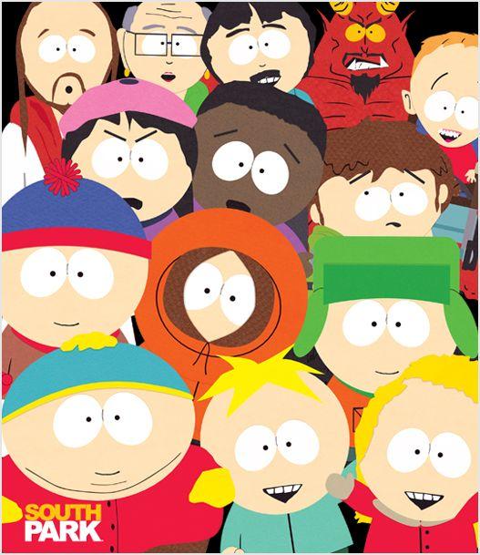 Group Picture Skin Southpark South Park Characters South Park Park