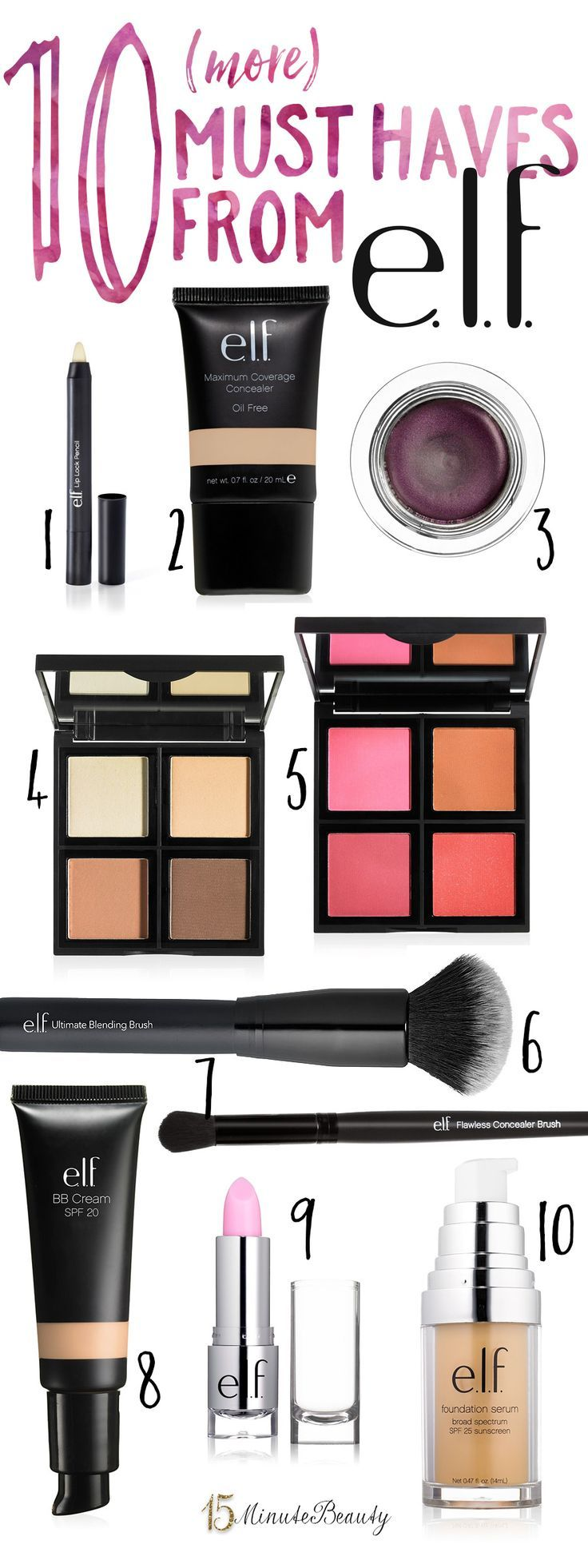 The Best Products from ELF Part II Best makeup products