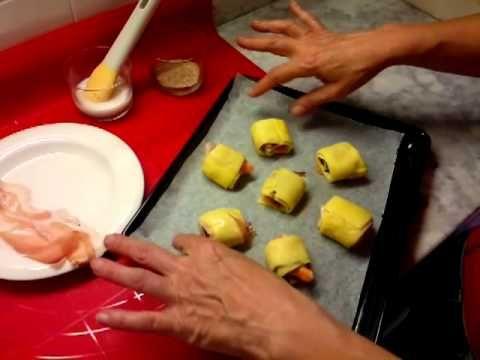 Finger food croccante