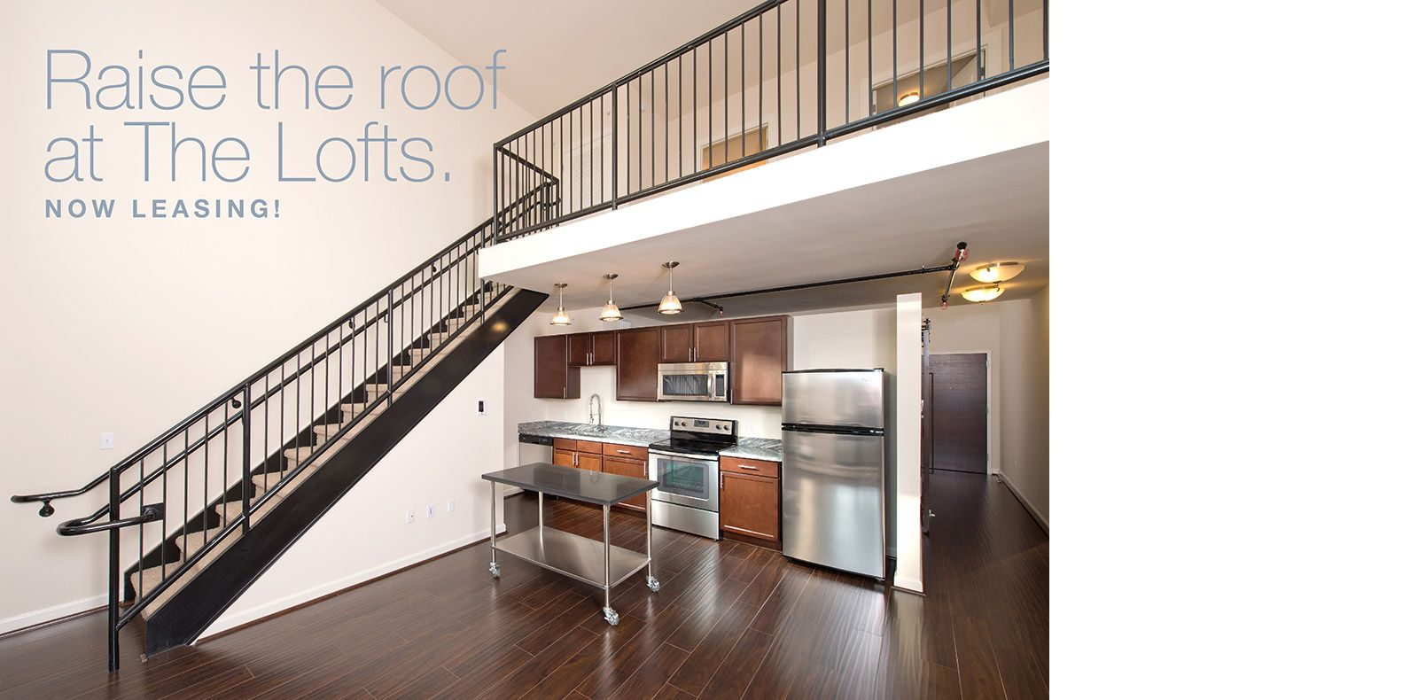 The Kitchens At The Lofts At Halstead Square Feature Imported Granite  Countertops, Custom Designed Moveable Islands, Energy Star Rated Whirlpool®  Stainless ...