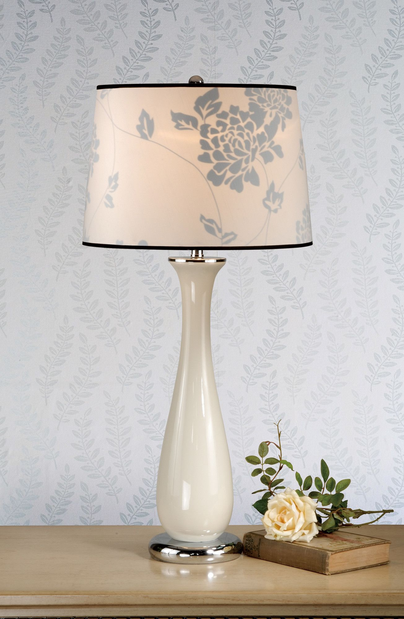 laura ashley home siena table lamp with isodore shade. Black Bedroom Furniture Sets. Home Design Ideas