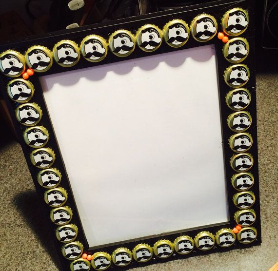 Customized Bottle Caps Picture Frames Pick your own Design of Caps ...