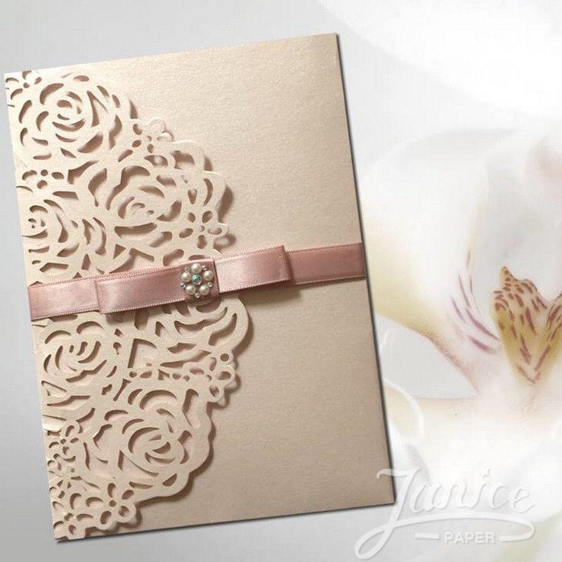 Pin On Laser Cut Wedding Event Invitations