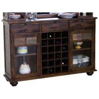 Check out the Sunny Designs 2413DC-S Santa Fe Server in Dark Chocolate priced at $767.50 at Homeclick.com.