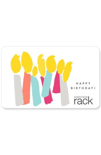 NORDSTROM GIFT CARD Nordstrom Rack Birthday Candles Gift Card Available At