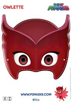 Photo of PJ Masks Owlette Mask | Printable