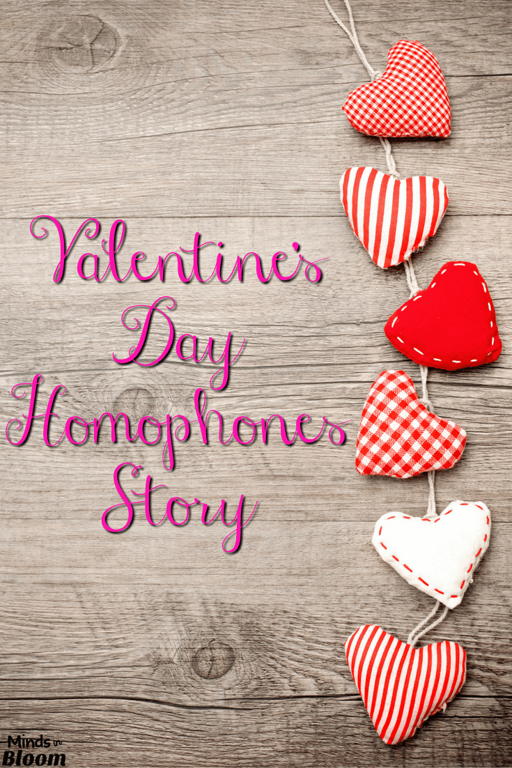 valentine's day homophones story | students, school and language arts, Ideas